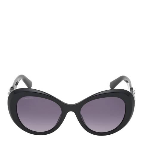SWAROVSKI Women's Black Swarovski Sunglasses 54mm