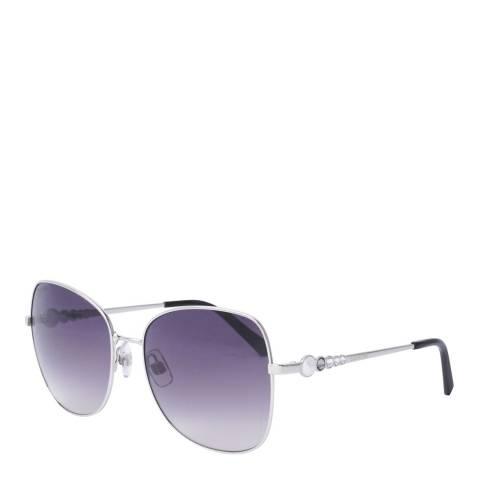 SWAROVSKI Women's Silver/Purple Swarovski Sunglasses 59mm
