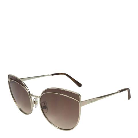 SWAROVSKI Women's Brown/Gold Swarovski Sunglasses 60mm