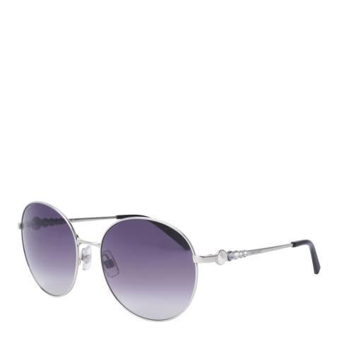 SWAROVSKI Women's Silver/Purple Swarovski Sunglasses 61mm