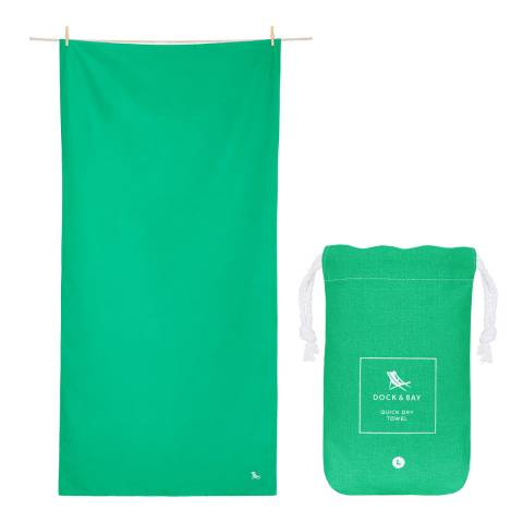Dock & Bay Classic Large Towel, Everdale Green