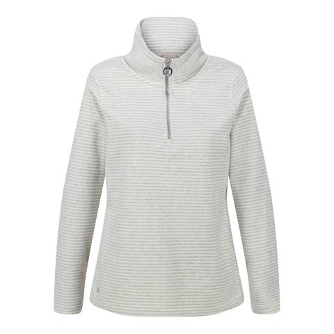 Regatta White/Silver Solenne Fleece Top