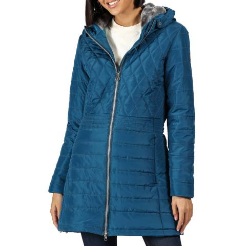 Regatta Blue Parmenia Quilted Jacket