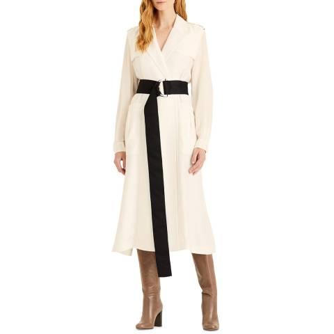 Amanda Wakeley Ecru Luxe Sport Coat