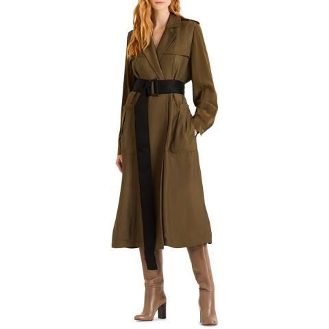 Amanda Wakeley Khaki Luxe Sport Coat