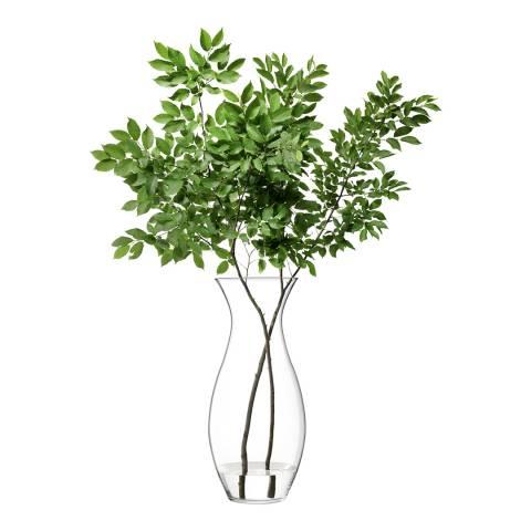 LSA Flower Giant Posy Vase H80cm Clear