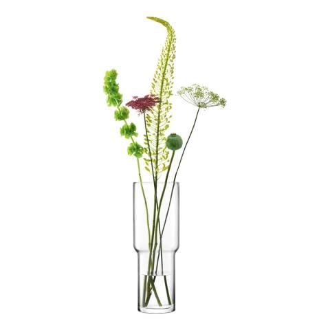 LSA Utility Vase H42cm Clear