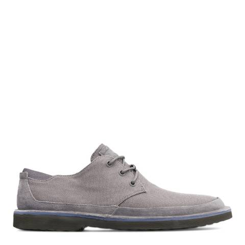 Camper Grey Morrys Casual Shoes