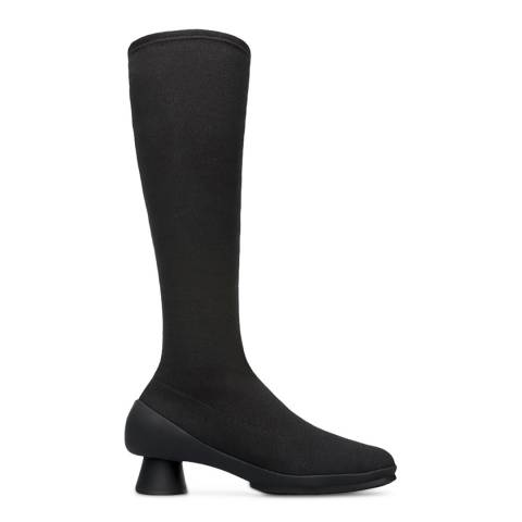 Camper Black Alright High Knee Boot