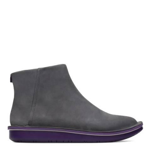 Camper Charcoal Formiga Ankle Zip Boot