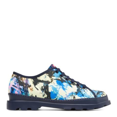 Camper Blue Multi Brutus Casual Shoe