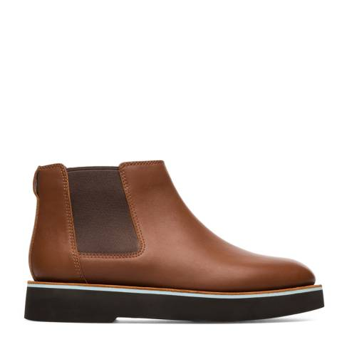 Camper Medium Brown Tyra Ankle Boot