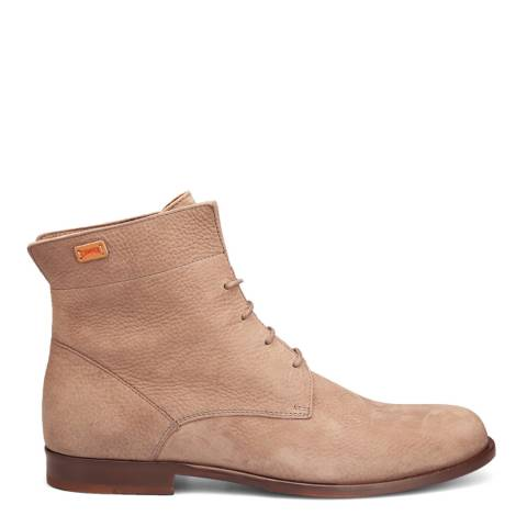 Camper Medium Brown Bolso Ankle Boot