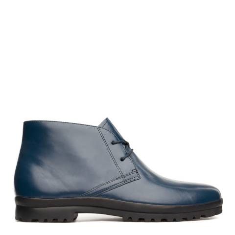 Camper Dark Blue Pegaso Desert Boot