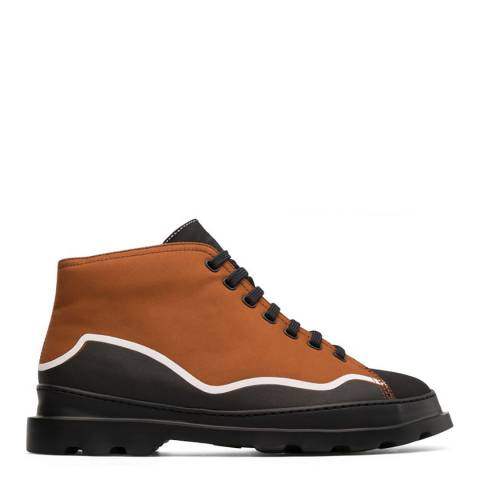Camper Brown Twins Ankle Boot