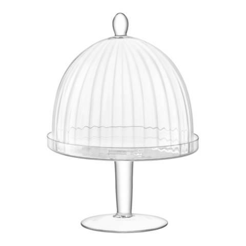 LSA Aurelia Stand & Dome Ø25cm/Ø21cm H34cm Clear Optic
