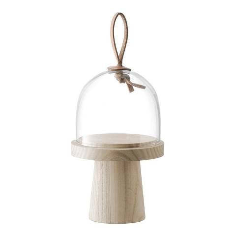 LSA Ivalo Ash Stand & Dome  Ø11.5cm/H19cm Clear *