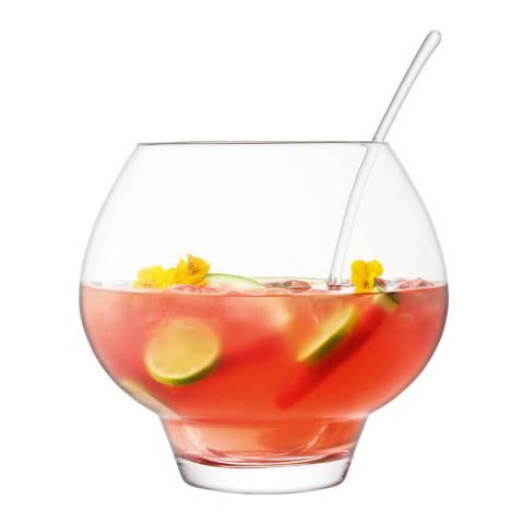 LSA Rum Punchbowl & Ladle, 27cm
