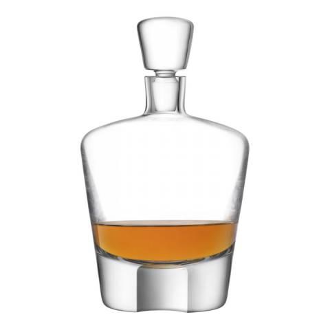 LSA Whisky Cut Decanter 0.9L Clear/Cut
