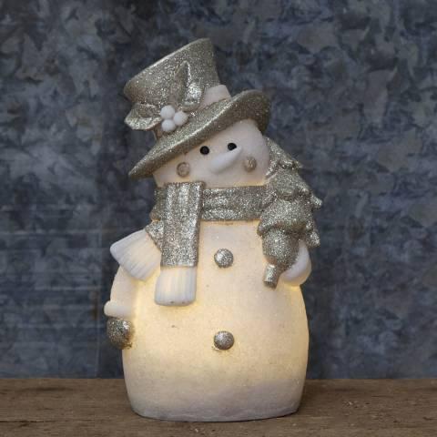 Christmas Magic Snowman Figurine Buddy
