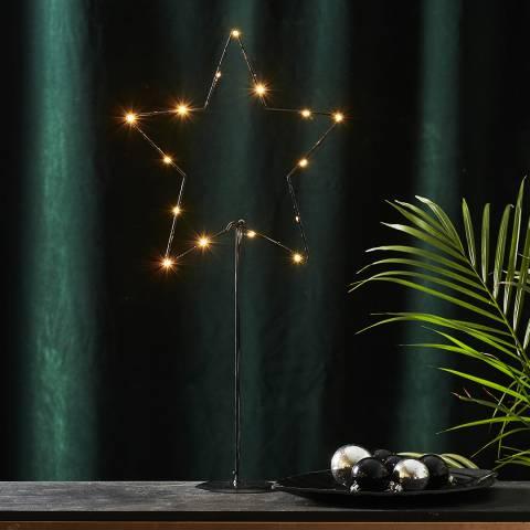 Christmas Magic Sparkling Star on Base