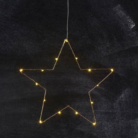 Christmas Magic Hanging Sparkling Star