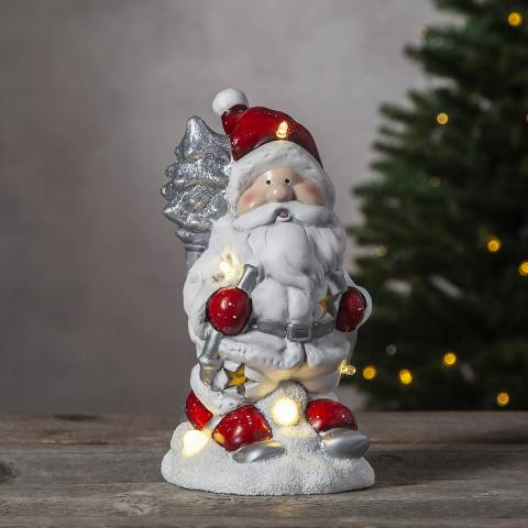 Christmas Magic Santa Figurine Friends