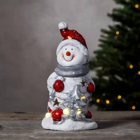 Christmas Magic Snowman Figurine Friends 24cm