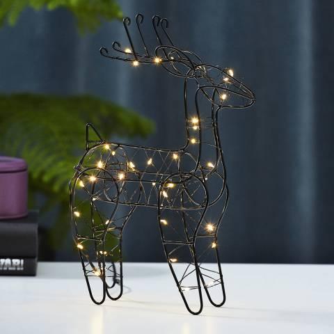 Christmas Magic LED Reindeer Figurine