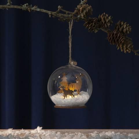 Christmas Magic Hanging Fauna Decoration