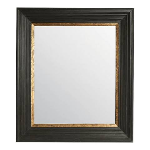 The Vintage Garden Room Black & Gold Flat Mirror
