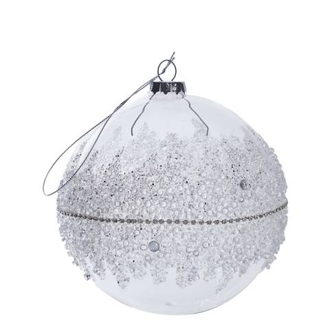 The Vintage Garden Room Glass Crystal Bauble