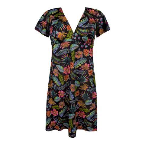 Antigel Noir Tropical La Tropicale Dress