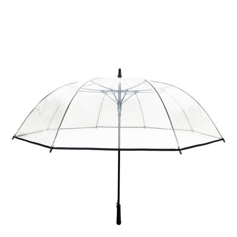 Smartbulle Transparent / Black Border Birdcage Umbrella