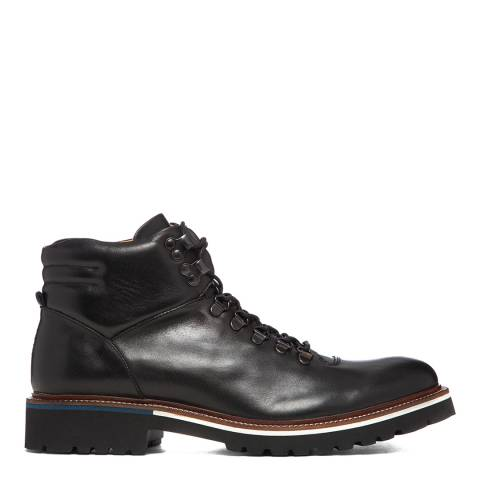 Oliver Sweeney Black Pietro Leather Hiker Boot