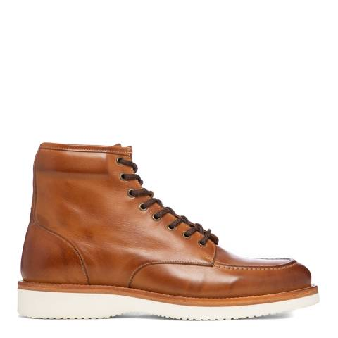 Oliver Sweeney Tan Nicolo Leather Ankle Boots