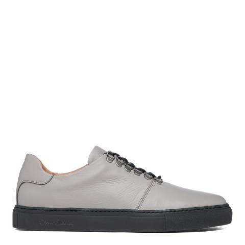 Oliver Sweeney Grey Zenon Leather Sneakers