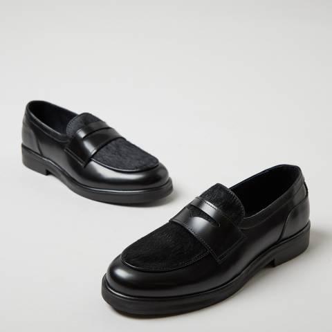 Oliver Sweeney Black Leonarda Leather Loafers