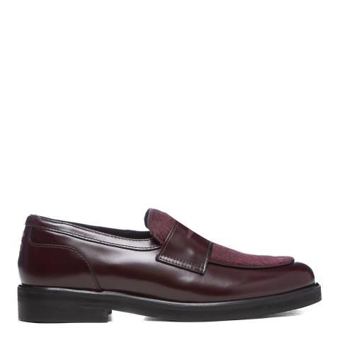Oliver Sweeney Oxblood Leonarda Leather Loafers