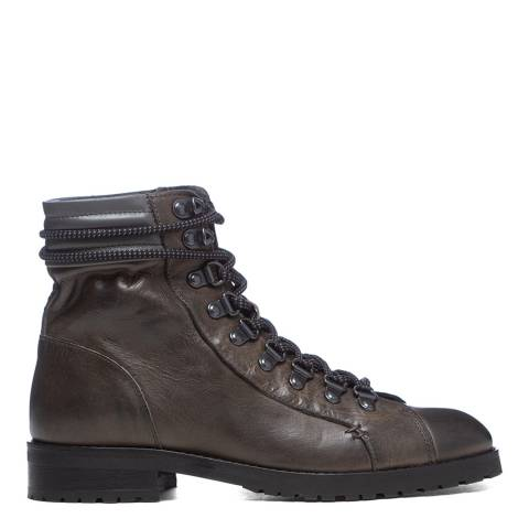 Oliver Sweeney Dark Grey Alvarenga Hiker Ankle Boot