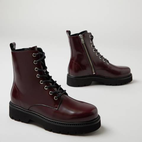 Oliver Sweeney Oxblood Tansy Ankle Boots