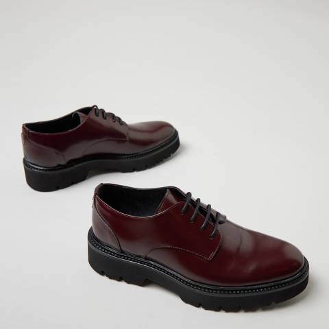 Oliver Sweeney Oxblood Florian Derby Shoes