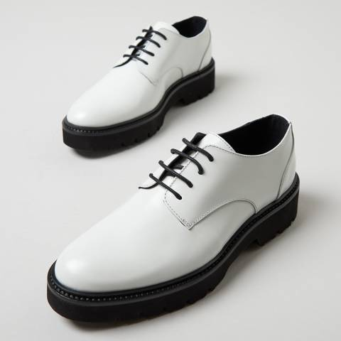 Oliver Sweeney White Florian Derby Shoes