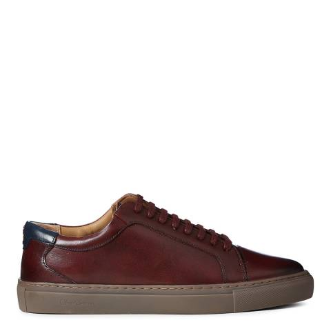 Oliver Sweeney Burgundy Tollesby Sneakers