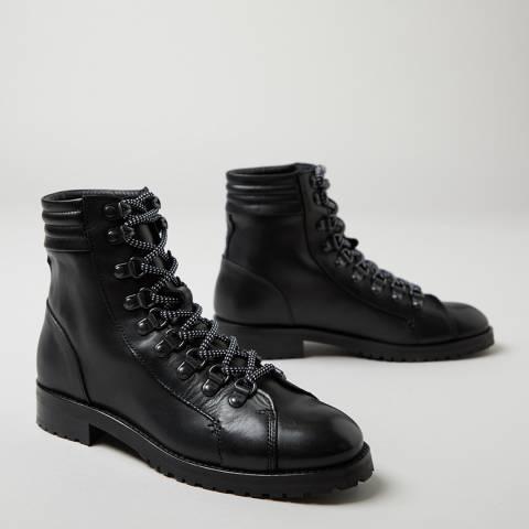 Oliver Sweeney Black Alvarenga Hiker Ankle Boot