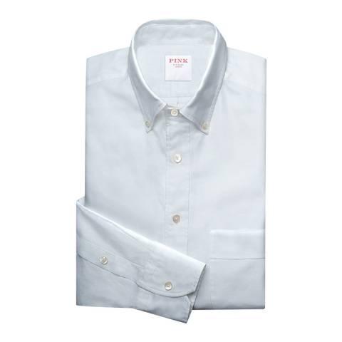 Thomas Pink White Weekend Oxford Shirt