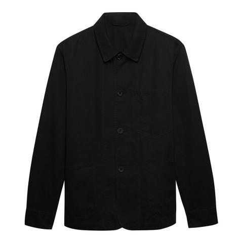 Thomas Pink Navy Cotton Blend Workwear Jacket