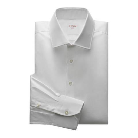 Thomas Pink White Royal Oxford Tailored Fit Shirt