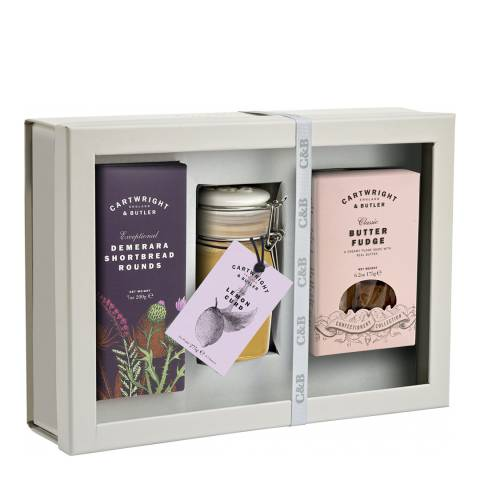 Cartwright & Butler Afternoon Gift Selection Window Box
