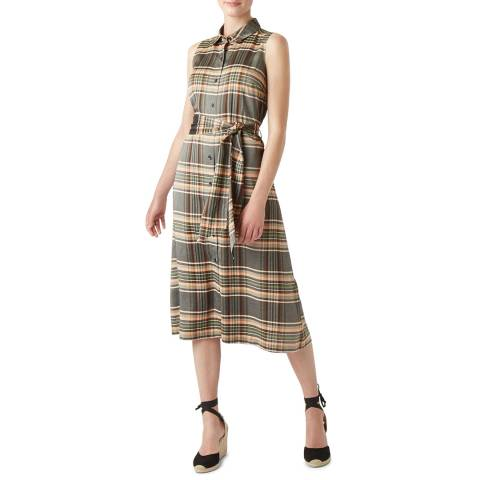 Hobbs London Multi Check Isadora Dress